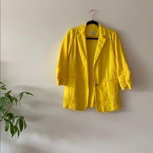 Michael Kors Yellow Blazer